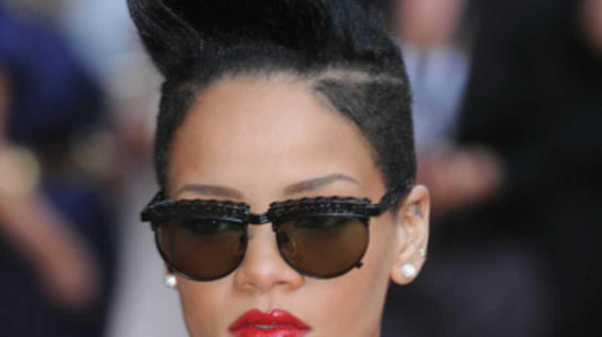 PHOTOS Rihanna se rase une partie du crâne