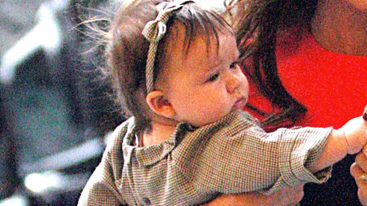 David Beckham adore les serre-têtes de sa fille
