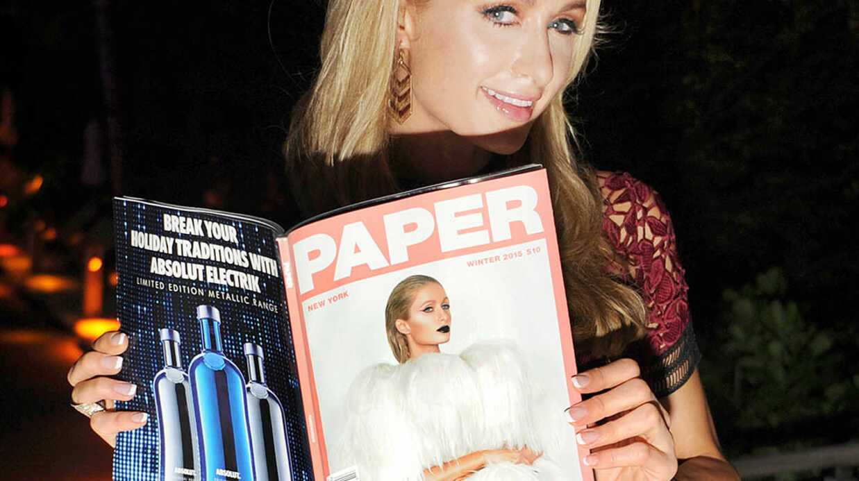 PHOTOS Paris Hilton pose les fesses à l'air pour le maga­zine Paper