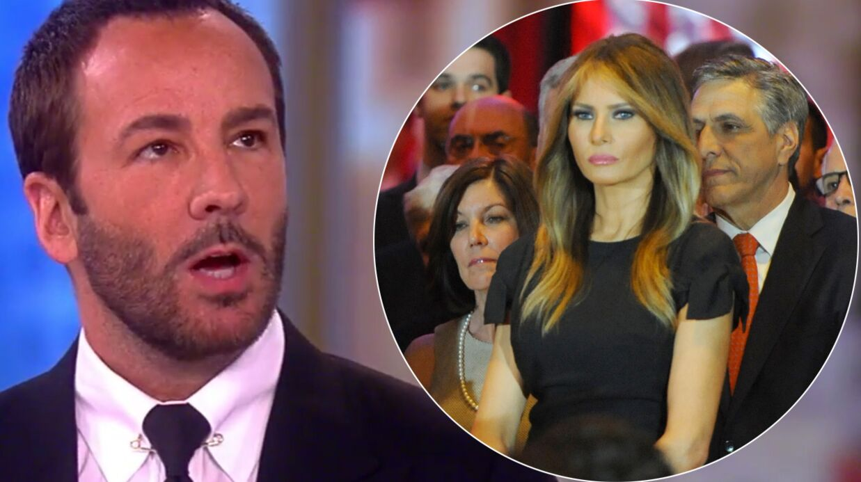Tom Ford refuse d'ha­biller Mela­nia Trump, la nouvelle first lady