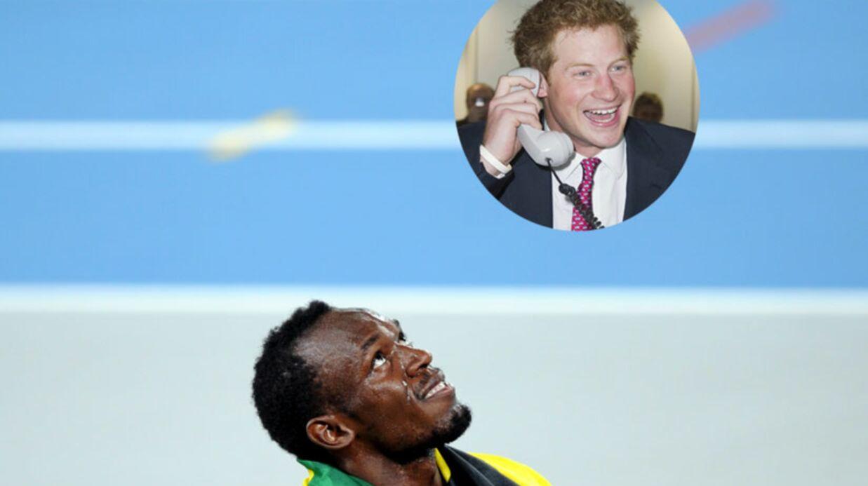 Le prince Harry va défier Usain Bolt sur 100 mètres
