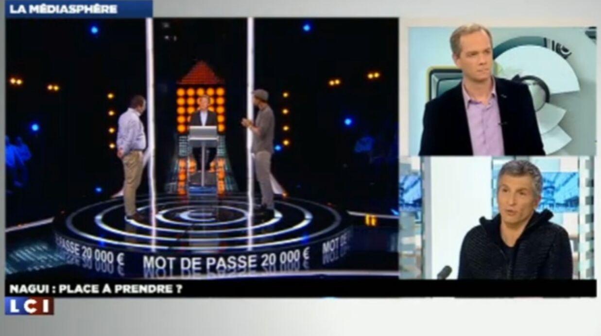 VIDEO Nagui règle ses comptes avec Sabatier sur LCI