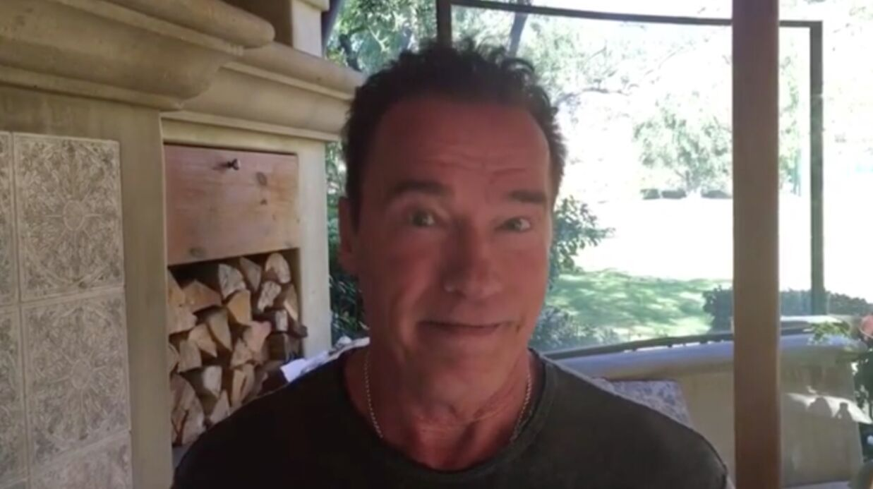 VIDEO Arnold Schwarzenegger propose à Donald Trump d'échanger leur job