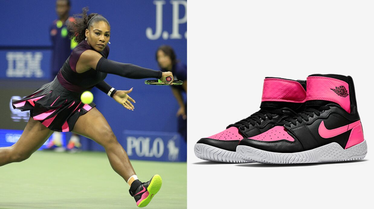 Nike sort une paire de sneakers pour célébrer la 23ème victoire de Serena Williams
