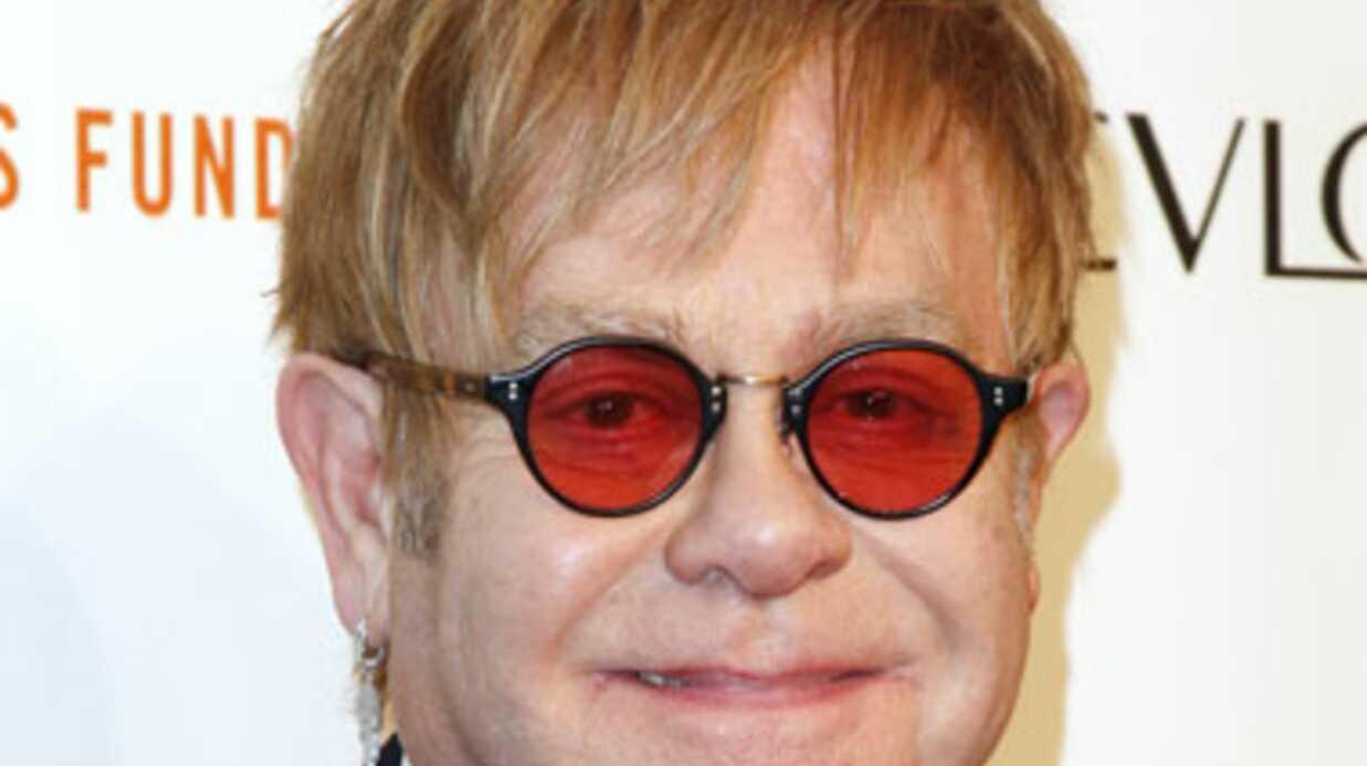Elton John et David Furnish inquiets pour leur enfant