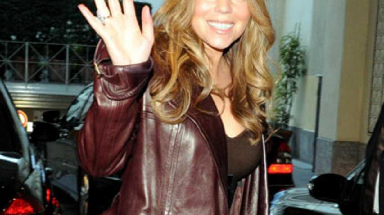 PHOTO Mariah Carey fait monter ses jumeaux sur scène