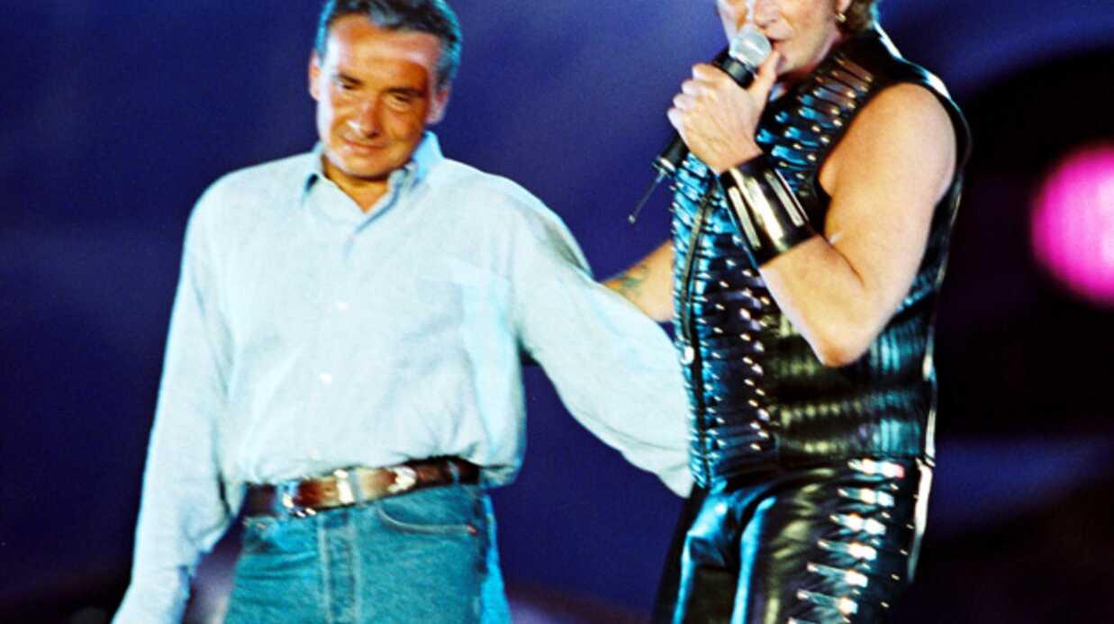 Johnny Hallyday ne voit plus Michel Sardou parce qu' il «l'ennuie»
