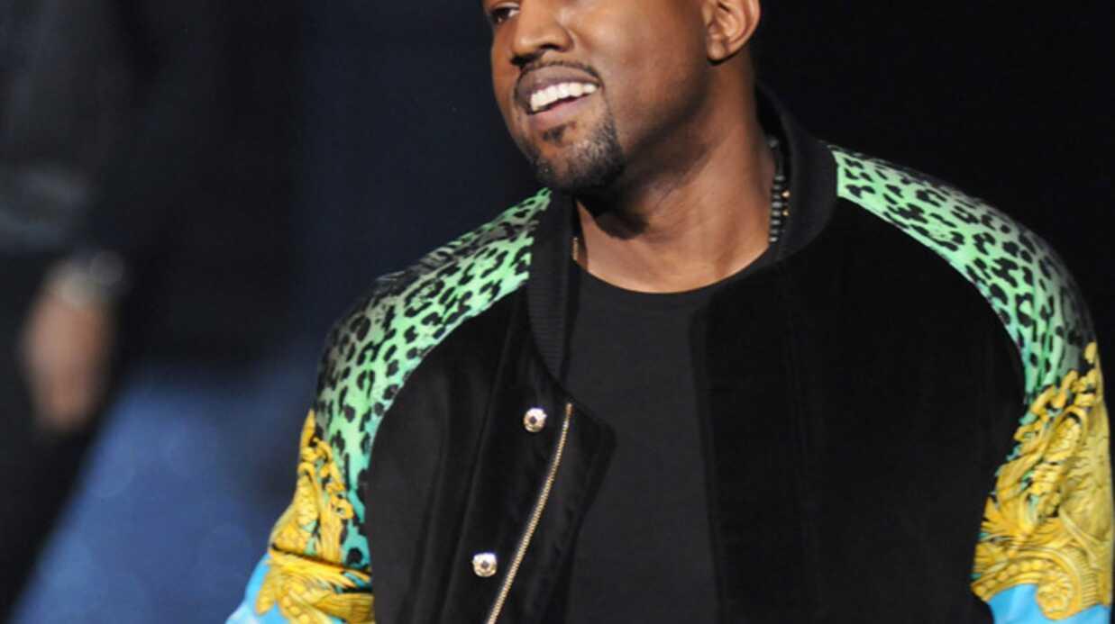 Omar Sy au concert de Kanye West et Jay-Z à Bercy