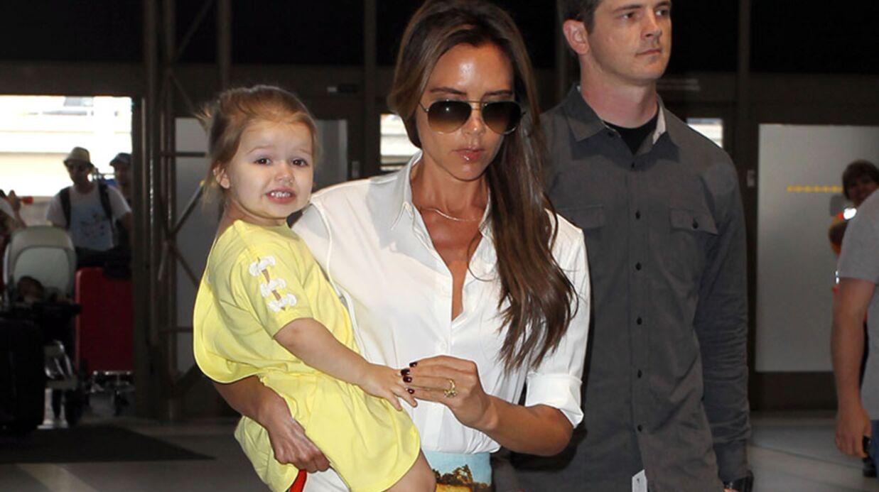 DIAPO Victoria Beckham repart de Los Angeles toute bronzée