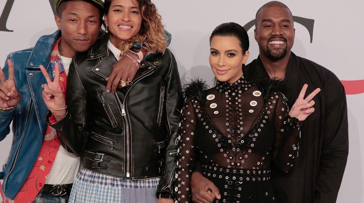 PHOTOS Kim Kardashian dégaine la robe transparente et cloutée pour les Fashion Awards