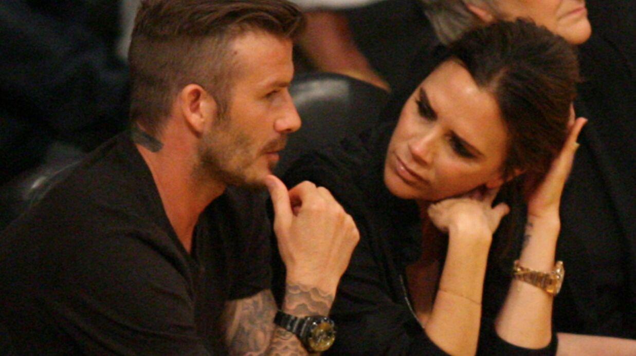 VIDEO David et Victoria Beckham s'embrassent en public