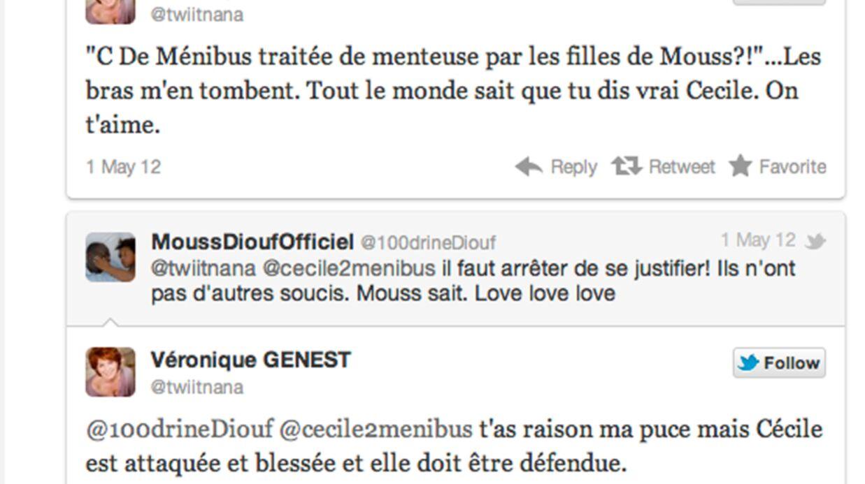 Mouss Diouf: embrouille autour d'une déclaration de Cécile de Ménibus