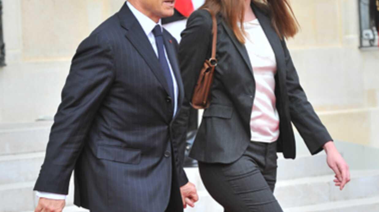 Carla Bruni s'est trouvée «horrible» après sa grossesse