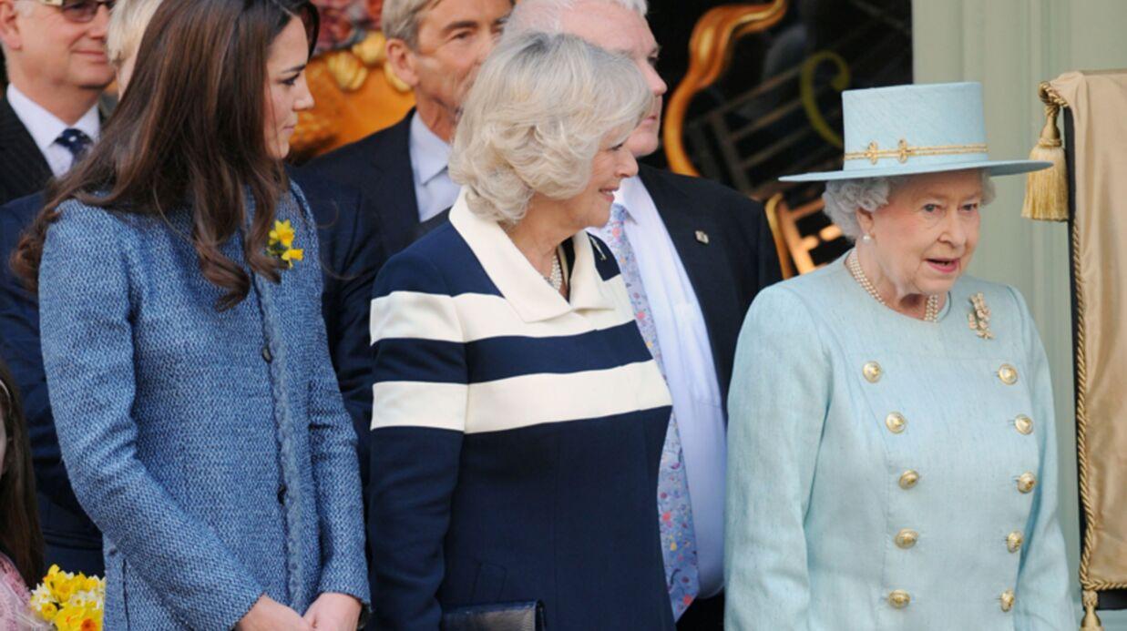 PHOTOS Kate Middleton s'éclate avec la reine et Camilla