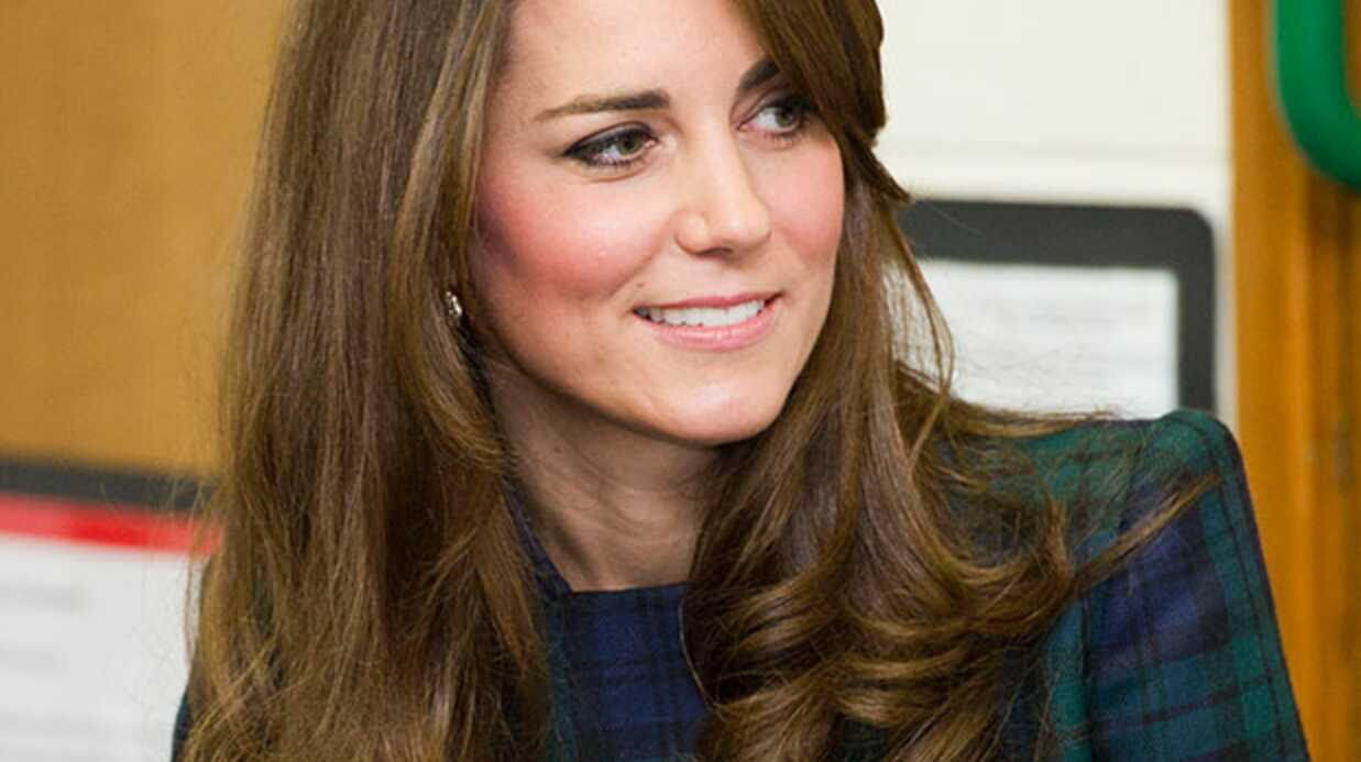 Kate Middleton fait son shopping maternité chez Topshop
