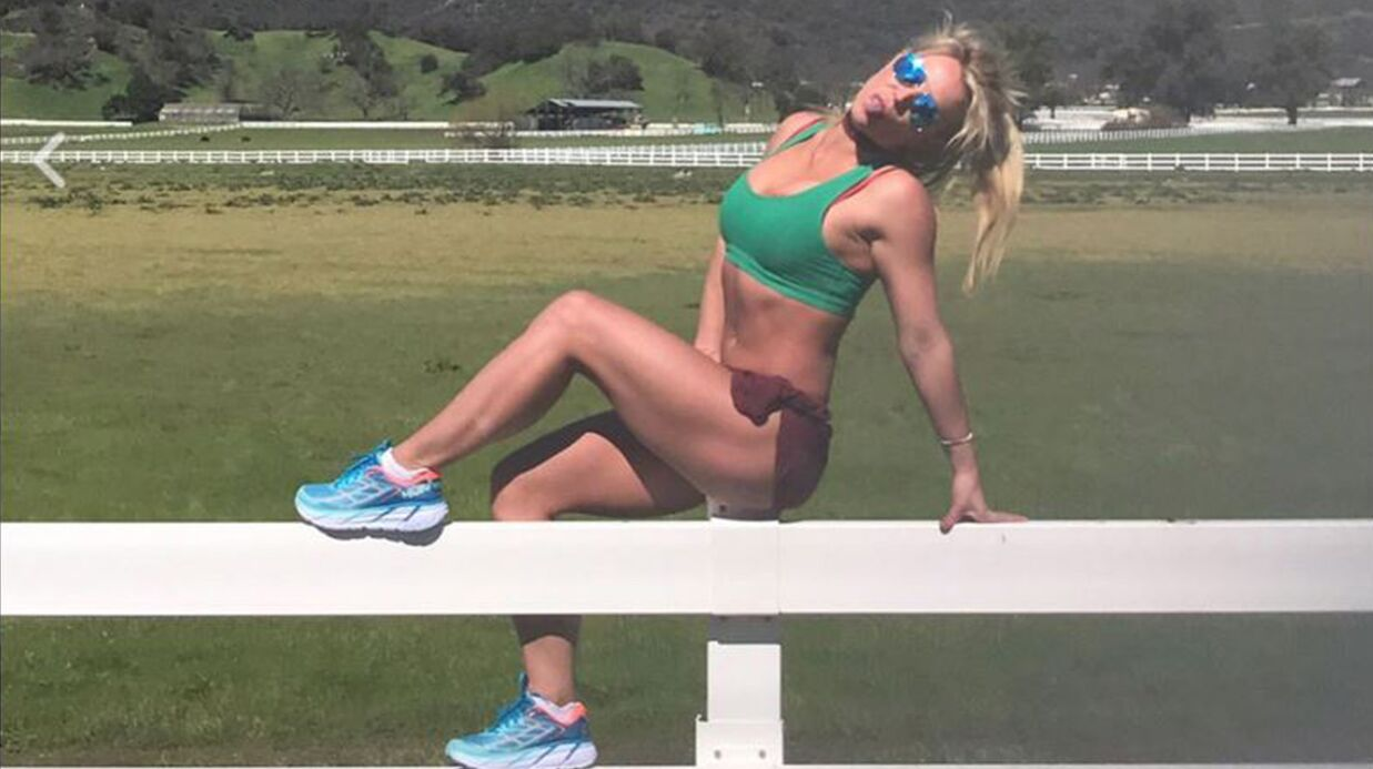 PHOTO Brit­ney Spears sculpte son corps au sport et montre l'impres­sion­nant résul­tat