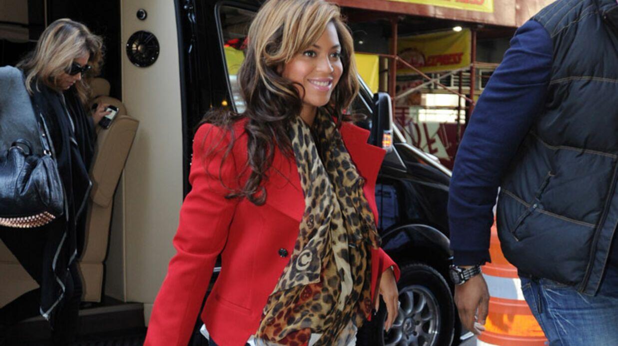 Enceinte, Beyoncé Knowles fait polémique avec ses talons