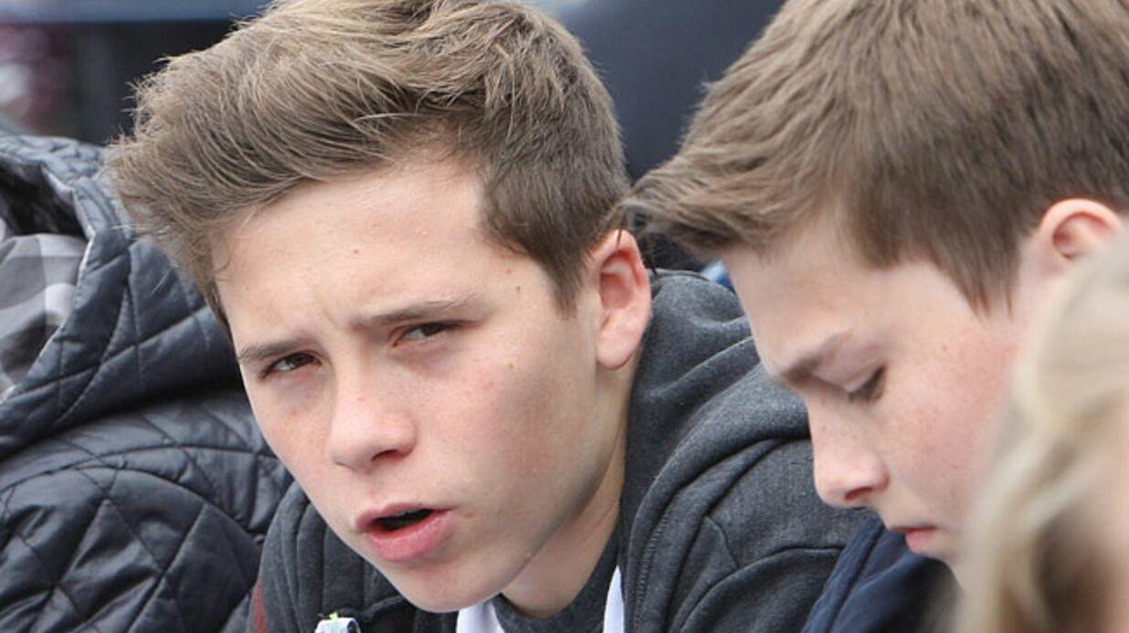 Le fils de David Beckham se met sérieusement au football