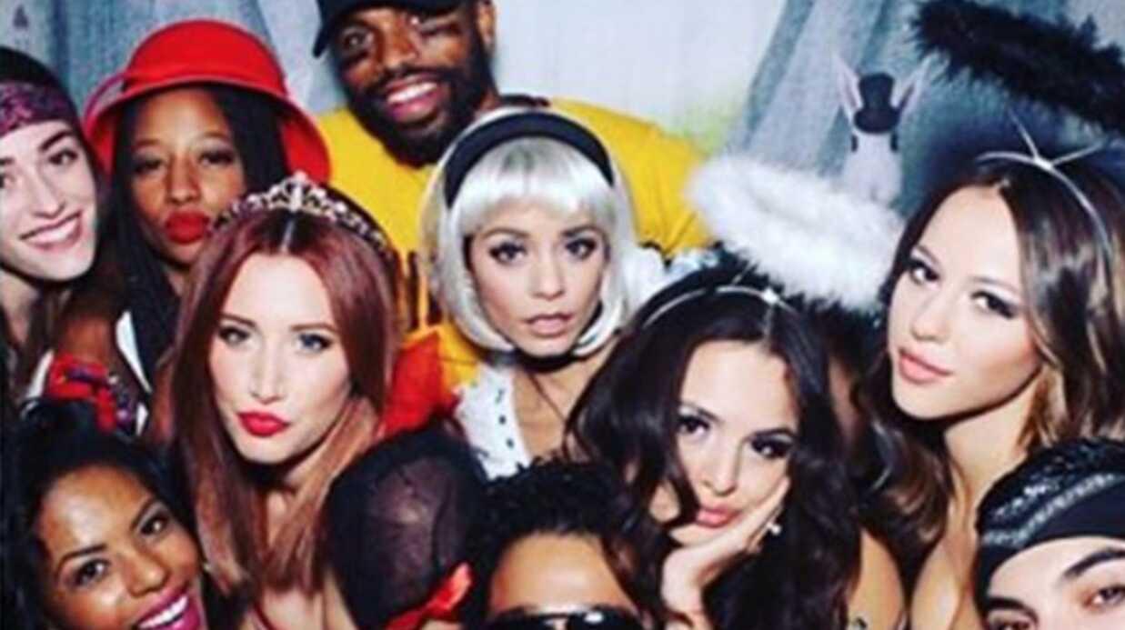 PHOTO Vanessa Hudgens retrouve ses copains de High School Musical pour un Halloween très spécial