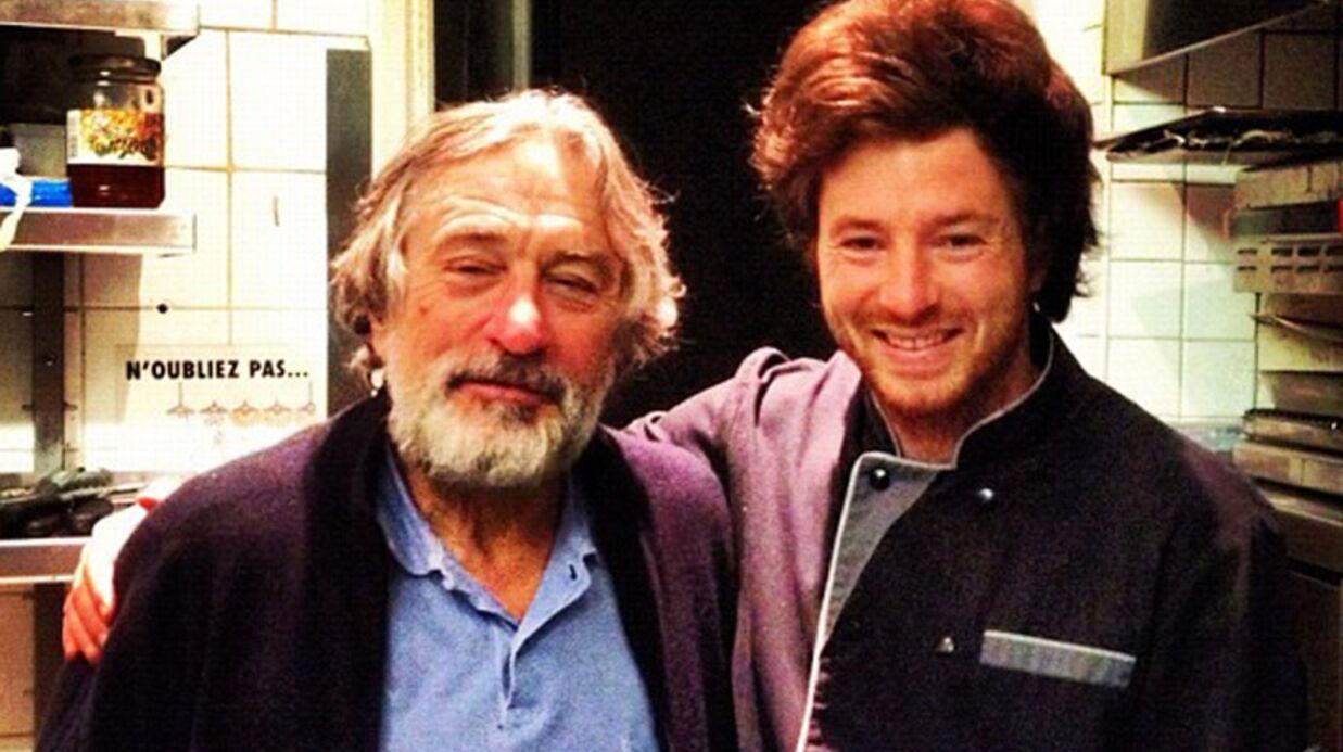 PHOTO Jean Imbert (Top Chef): Robert De Niro dans son resto