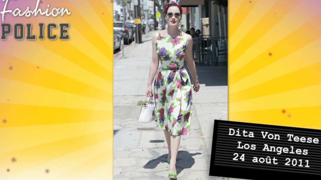 Fashion police #10: Dita belle comme une fleur, Vanessa Hudgens se plante