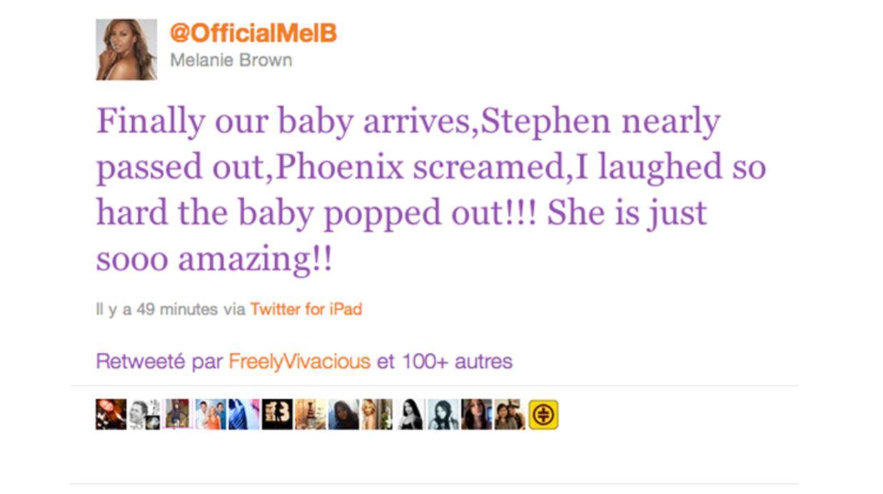 On connaît le prénom de la fille de Melanie B.
