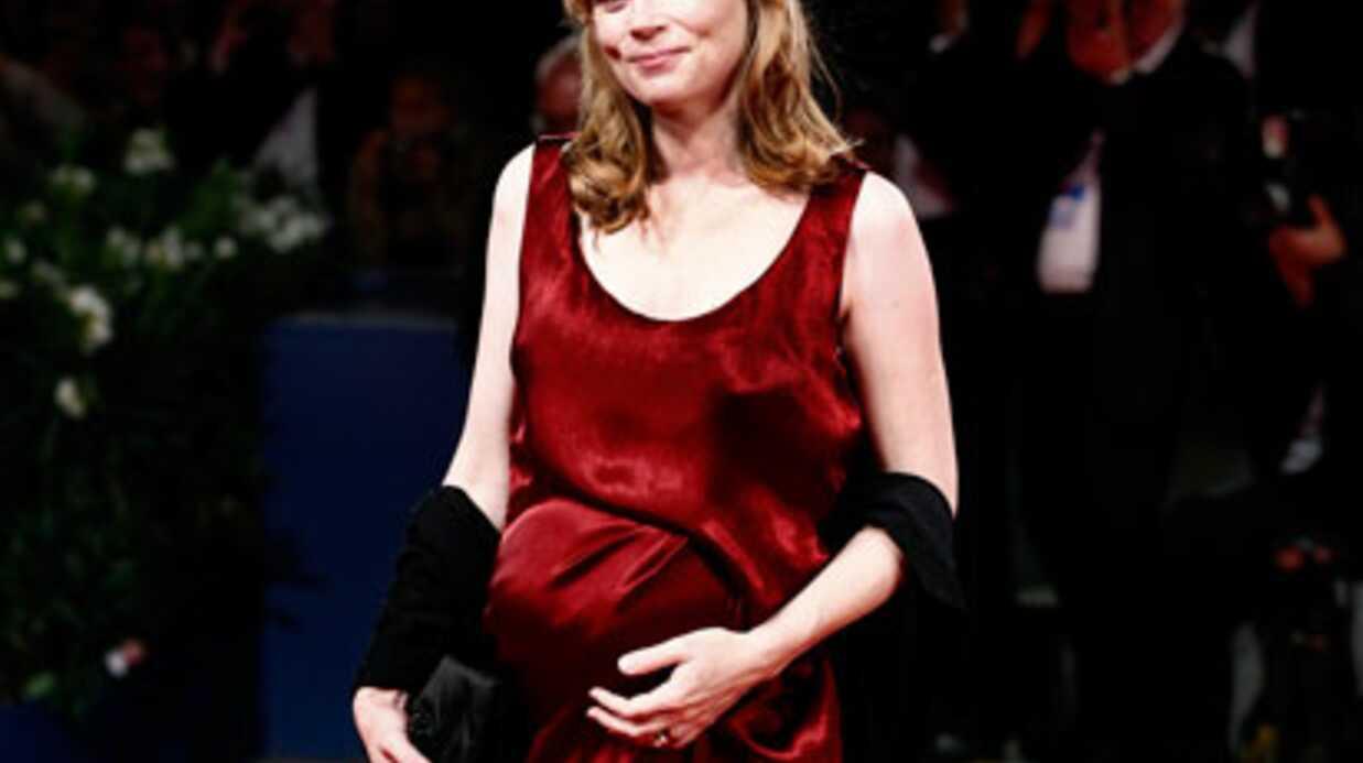 Isabelle Carré attend son troisième enfant
