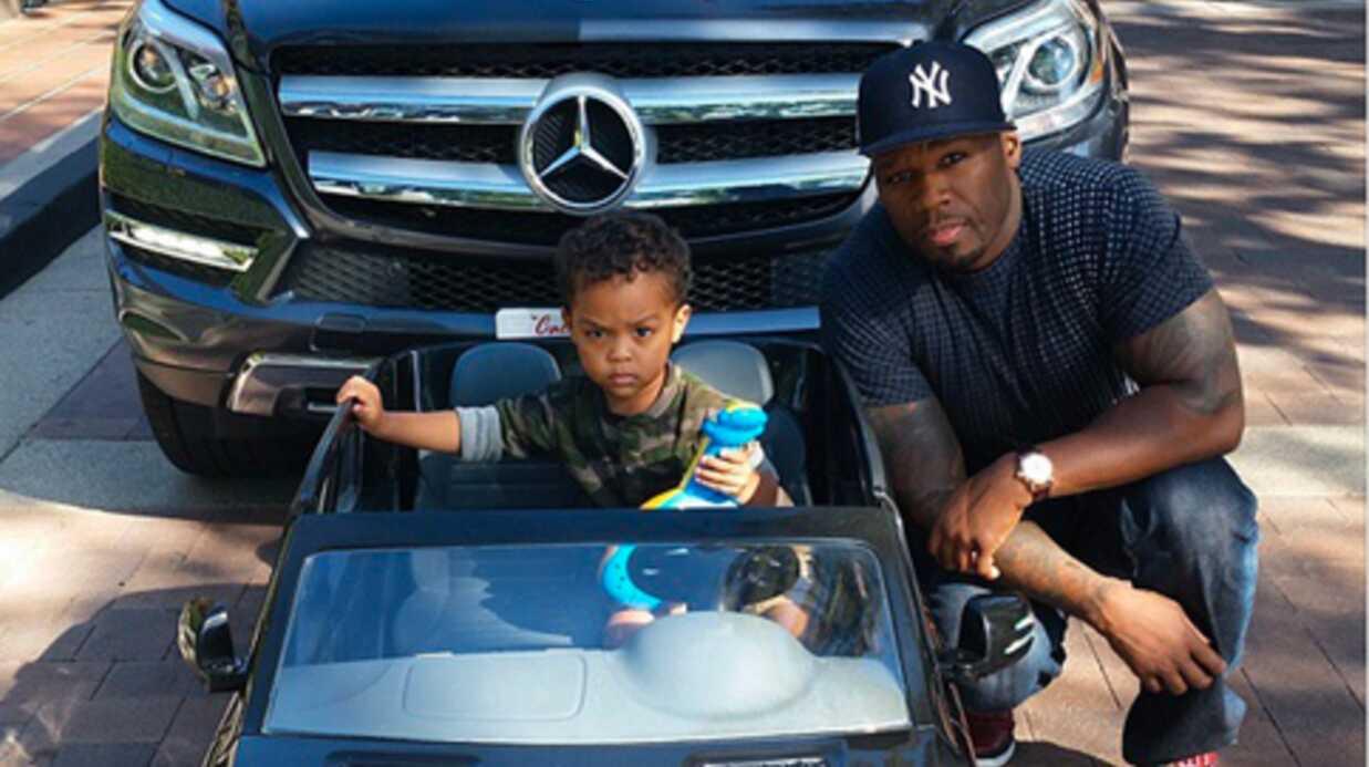 PHOTOS 50 Cent offre une Mercedes à son fils pour ses deux ans