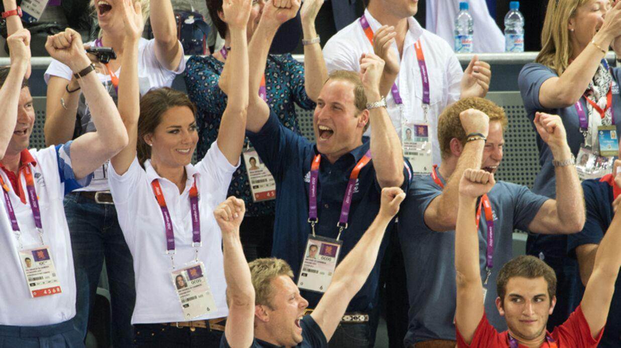 PHOTOS William et Kate Middleton: aux JO, leur joie balaie leur retenue