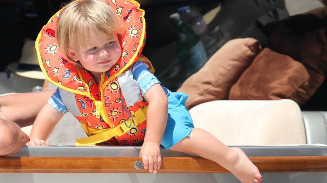 PHOTOS Elton John et Neil Patrick Harris avec leurs enfants à Saint-Tropez