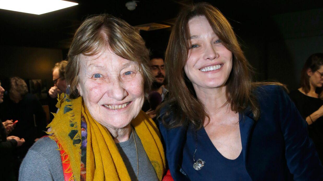PHOTO Carla Bruni-Sarkozy: sa jolie déclaration d'amour à sa mère Marisa pour son anniversaire