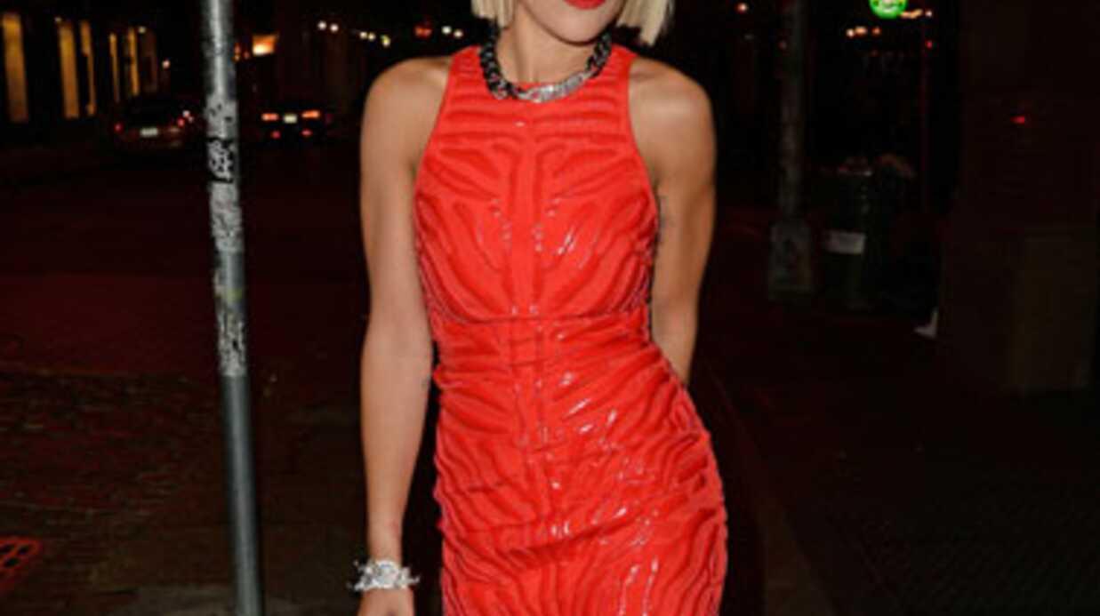 Rita Ora au casting de Fifty shades of Grey