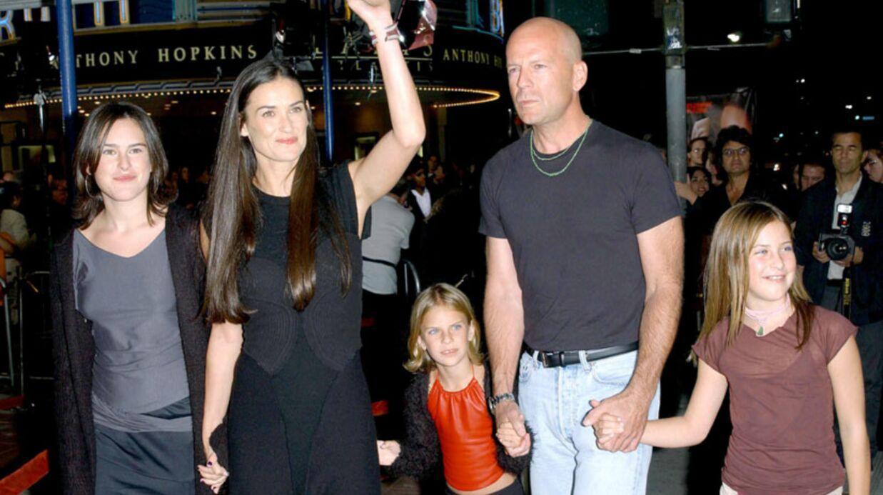 Bruce Willis est très inquiet à propos de Demi Moore