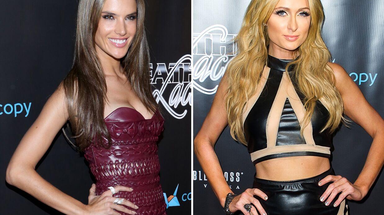 PHOTOS Alessandra Ambrosio, Paris Hilton… Des bombes en cuir à la soirée Leather & Laces