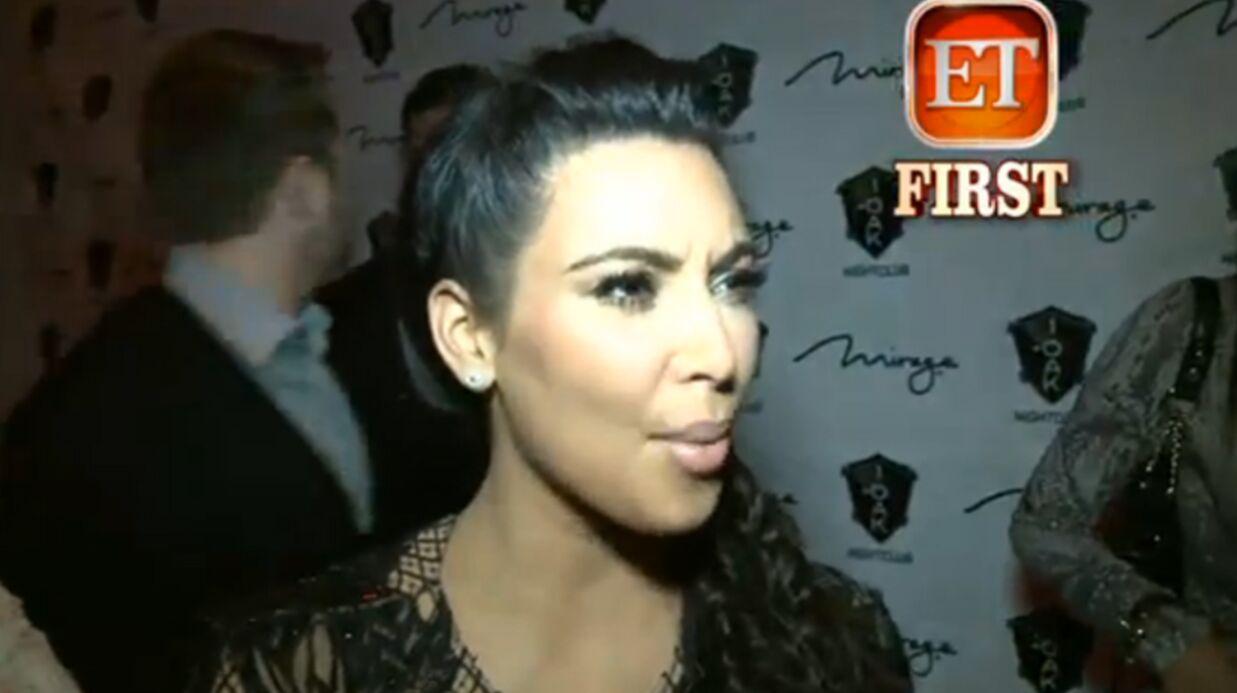 VIDEO Kim Kardashian: sa grossesse n'est «pas facile»