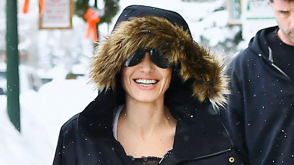 PHOTOS Angelina Jolie: à la montagne avec ses enfants, elle retrouve le sourire