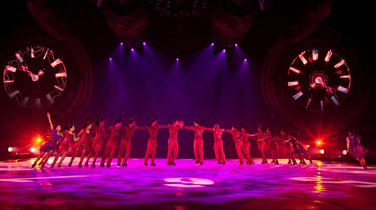 Sortie – Holiday on Ice et son nouveau spectacle, Time
