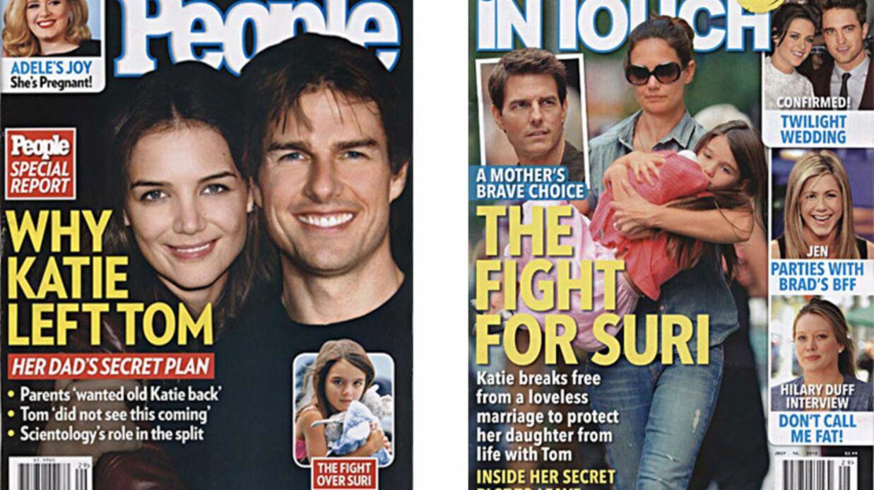 En direct des US: les détails de la rupture Tom Cruise – Katie Holmes
