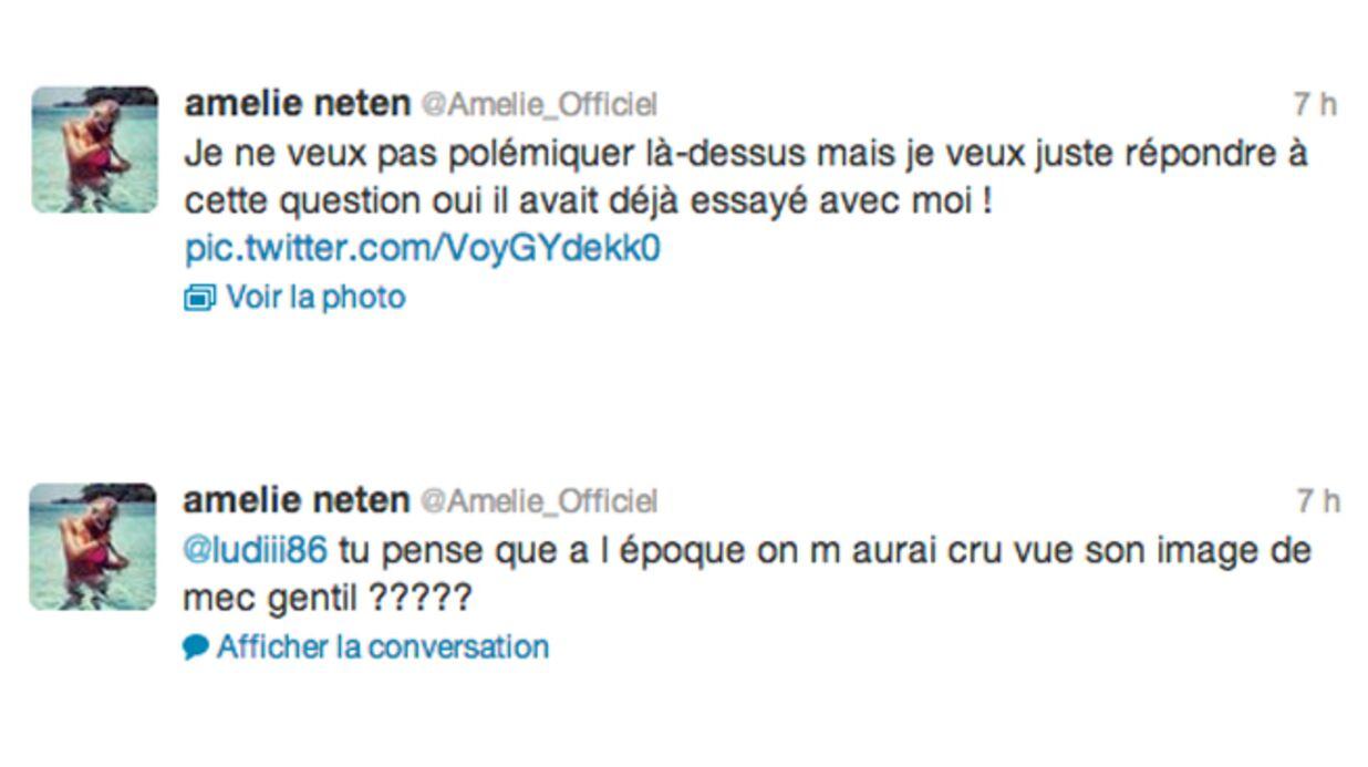Amélie Neten accuse Senna de s'être aussi montré violent avec elle