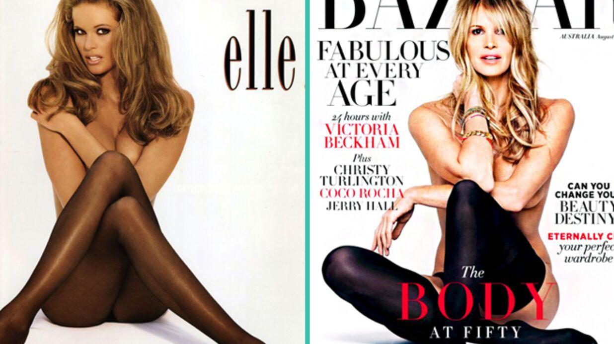 Le croyez-vous? Vingt ans séparent ces deux photos d'Elle Macpherson