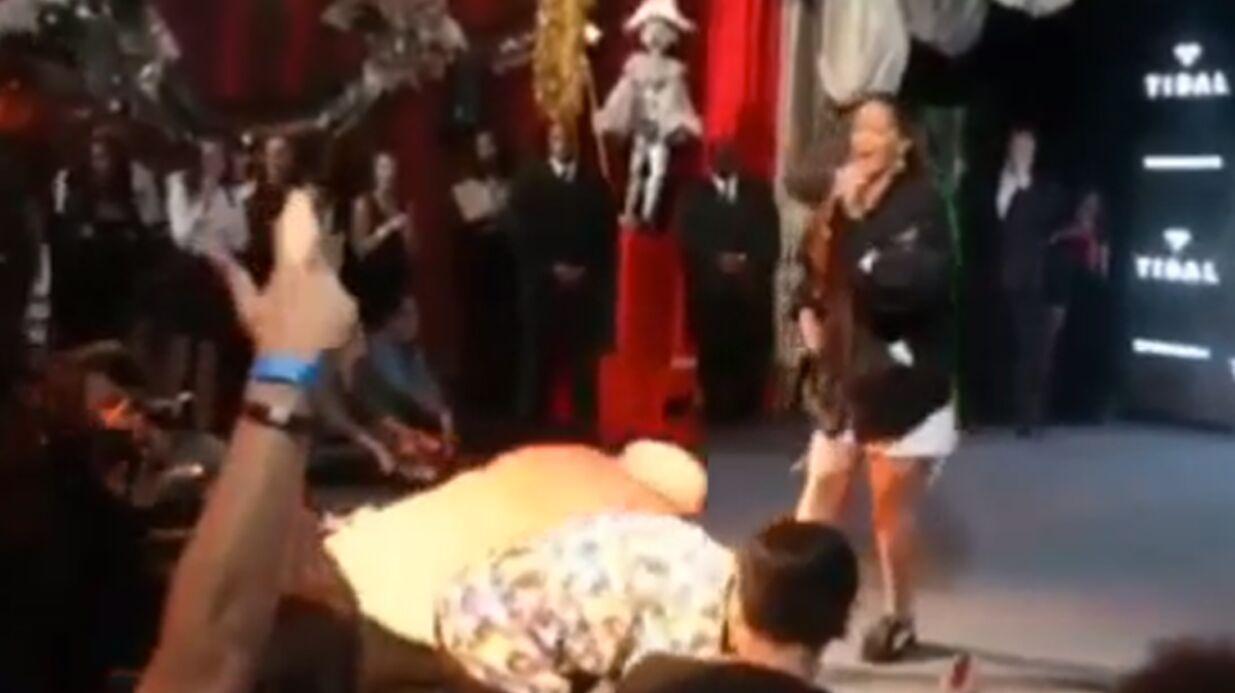 La grosse surprise de Rihanna à une poignée de fans