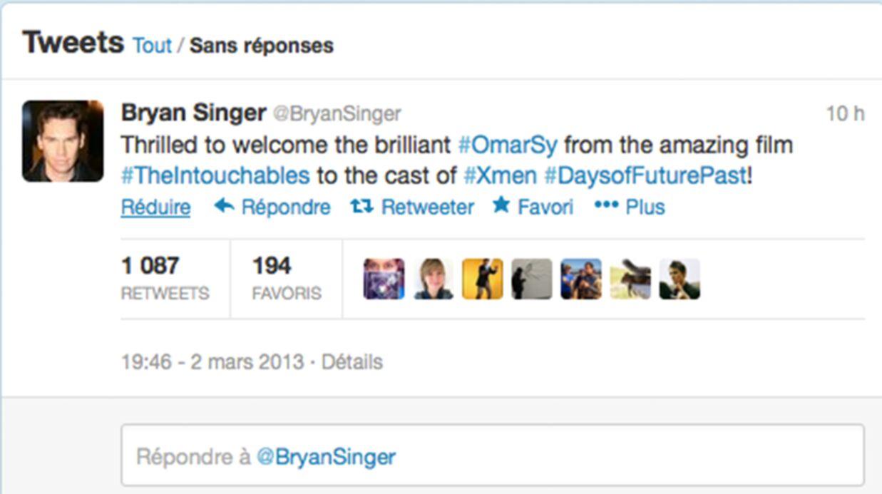Omar Sy au casting du prochain X-Men