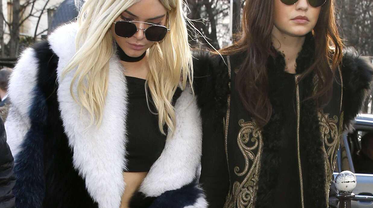 PHOTOS Kendall Jenner et Gigi Hadid ont échangé… leurs couleurs de cheveux pour Balmain