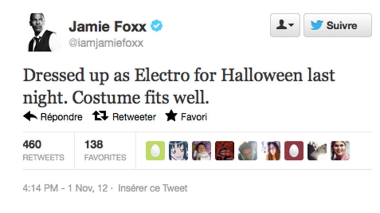 Jamie Foxx: le méchant dans le prochain Spider-Man?