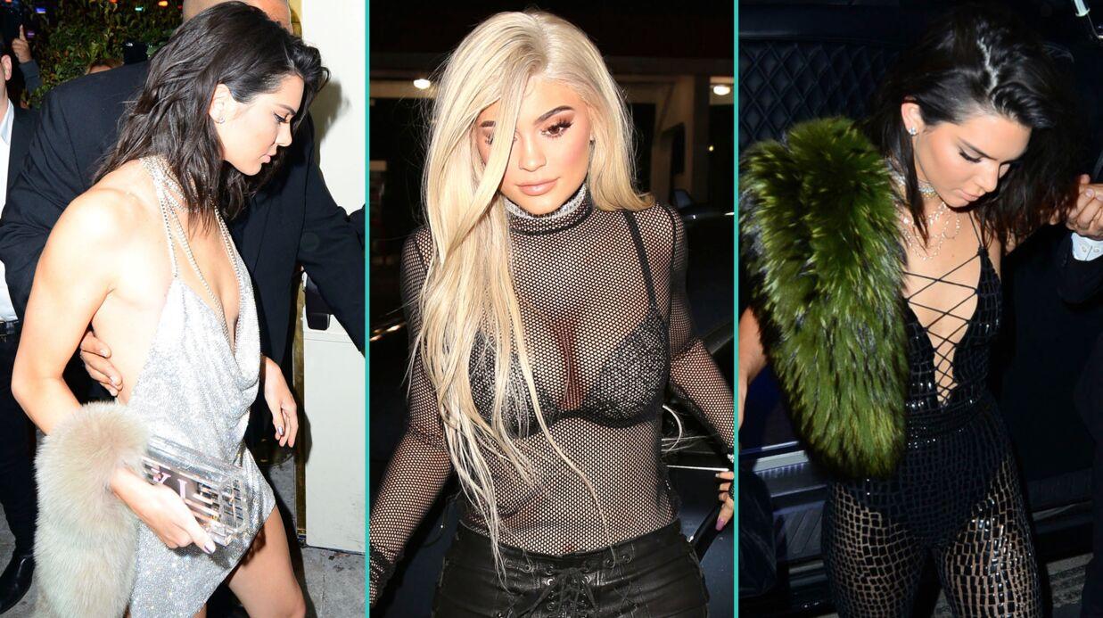 DIAPO Kendall Jenner: cuissardes, résille, mini robes, décolletés XXL… son très sexy anniversaire