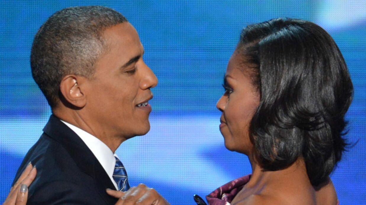 Barack et Michelle Obama se couvrent d'amour sur Twitter