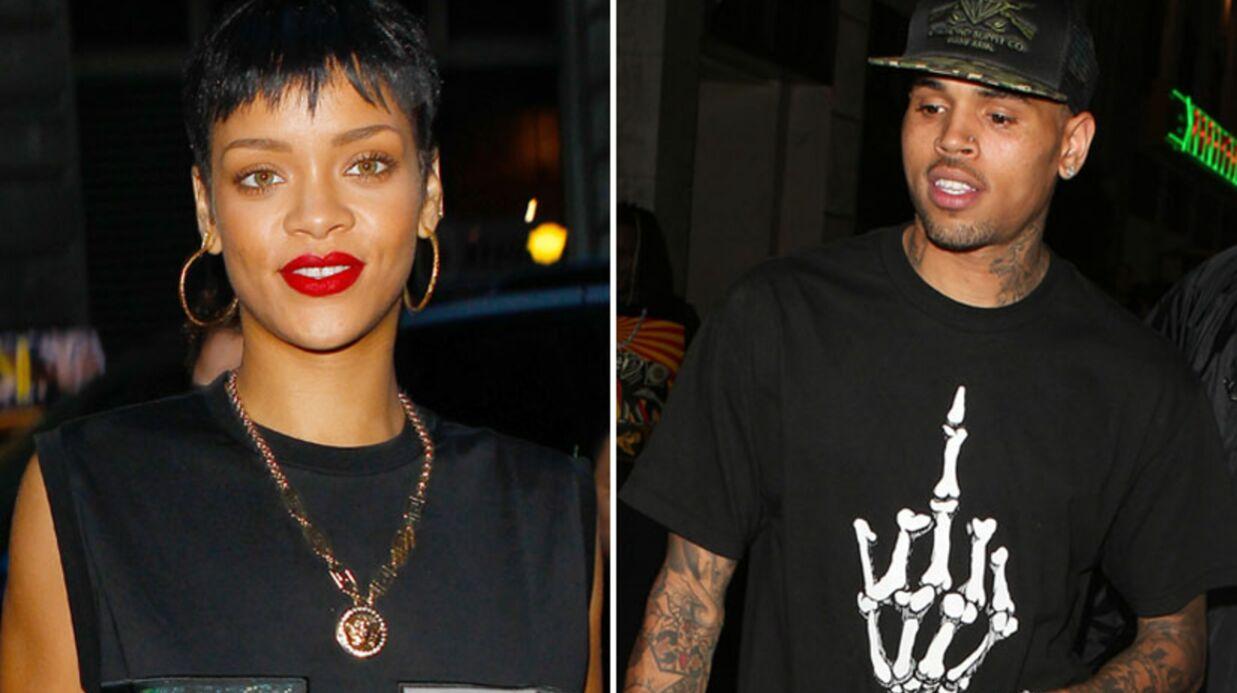 Rihanna et Chris Brown aperçus en train de s'embrasser