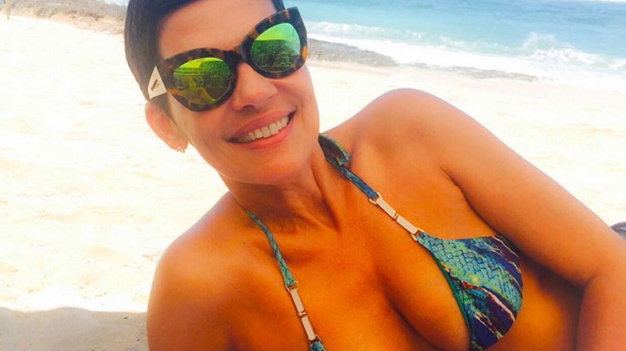 PHOTOS Cristina Cordula sexy en bikini pendant ses vacances de rêve!