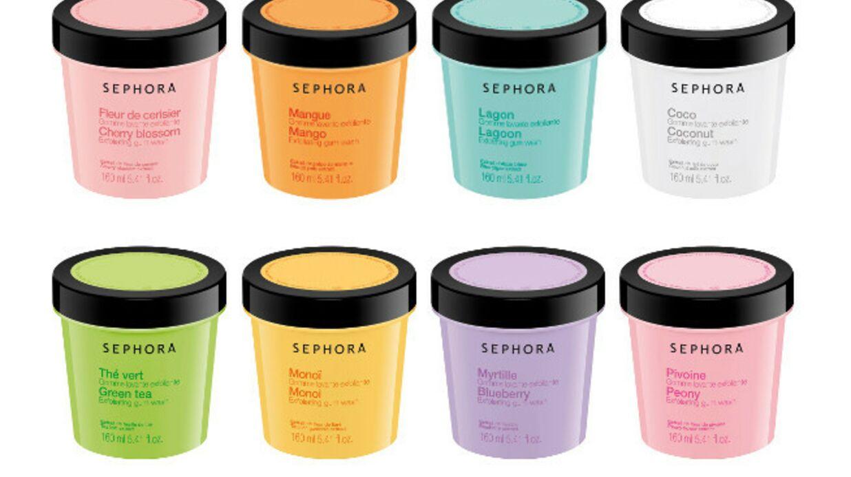 Sephora met la gomme pour adoucir la peau