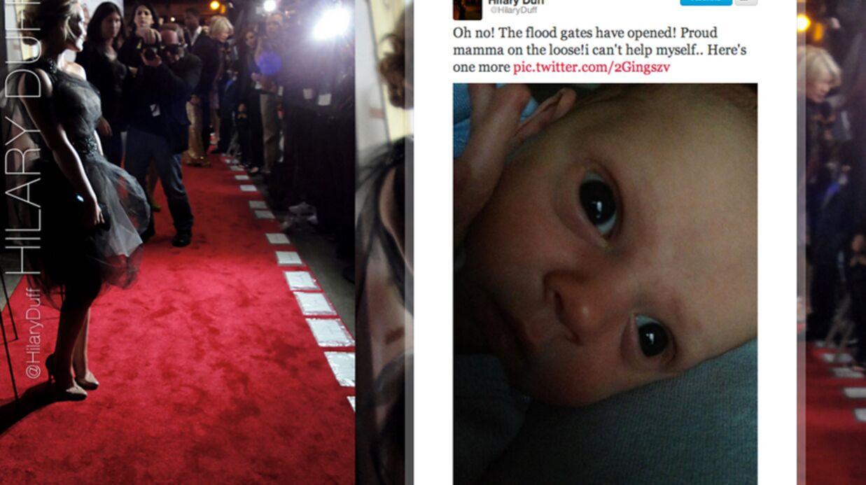 Les premières photos du bébé d'Hilary Duff